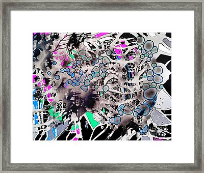 Spider Core Framed Print by Amy Sorrell