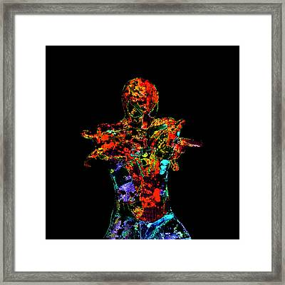 Spider Man 01a Framed Print by Brian Reaves