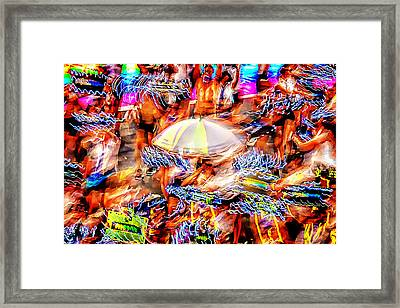 Prance Party Framed Print by Az Jackson