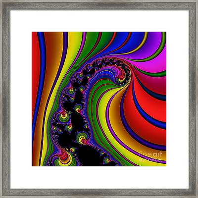 Spiral 121 Framed Print by Rolf Bertram