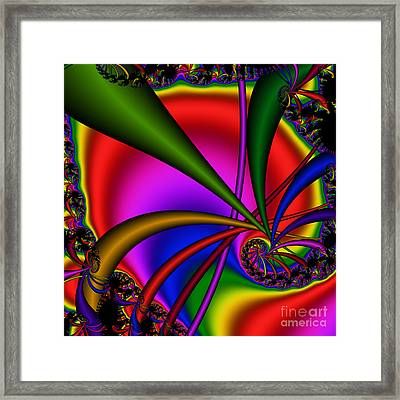 Spiral 123 Framed Print by Rolf Bertram
