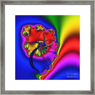 Spiral 141 Framed Print by Rolf Bertram