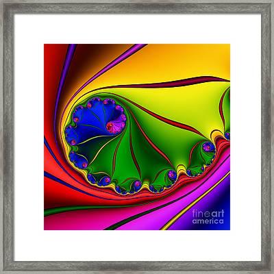 Spiral 146 Framed Print by Rolf Bertram