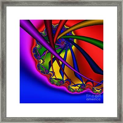Spiral 217 Framed Print by Rolf Bertram