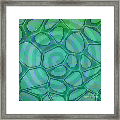 Spiral 3 - Abstract Painting Framed Print by Edward Fielding