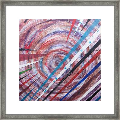 Spiral Unto Thee Framed Print by Nell Werner