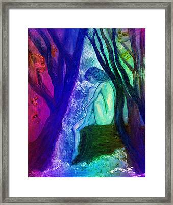 Spirit Guides II Framed Print by Patricia Motley