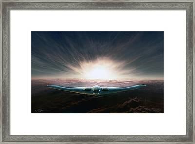Spirit In The Sky Framed Print by Peter Chilelli