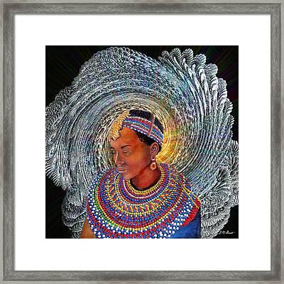 Spirit Of Africa Framed Print by Michael Durst