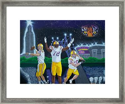 Spirit Of Baton Rouge Framed Print by Hershel Kysar