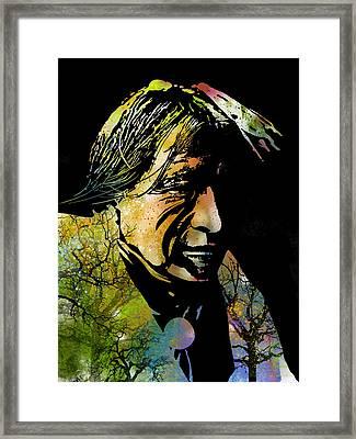 Spirit Of The Land Framed Print by Paul Sachtleben
