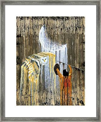 Spirit Of The Night Framed Print by Patrick Trotter