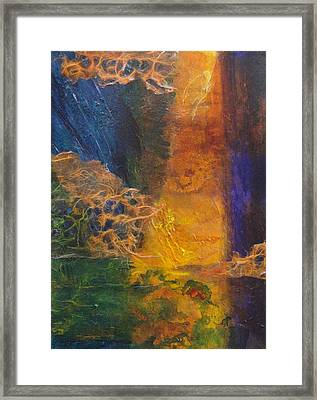Spirits Of The Marsh Framed Print by Del Marinello