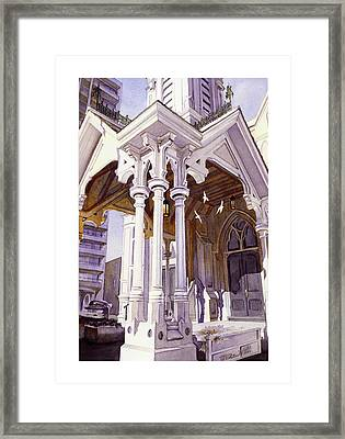 Spirits Of The Old Church Framed Print by Mike Hill