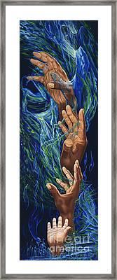 Spiritual Bridge Framed Print by George Combs