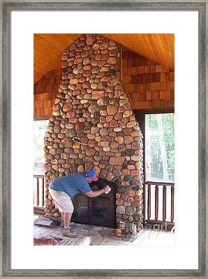 Spit Shine Framed Print by The Stone Age