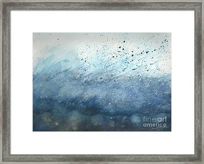 Splash   Framed Print by Janet Hinshaw