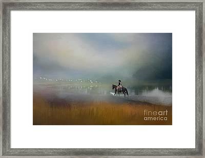 Splash Framed Print by Kim Henderson