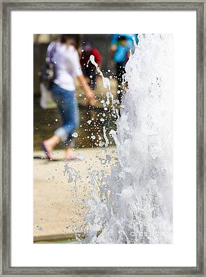 Splashing Out Framed Print by Jorgo Photography - Wall Art Gallery