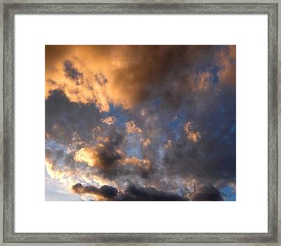 Splendid Cloudscape 5 Framed Print by Will Borden