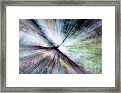 Splintered Light Framed Print by Balanced Art