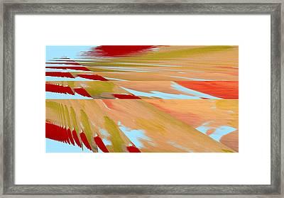 Splitting Thought  Framed Print by Scott Putman