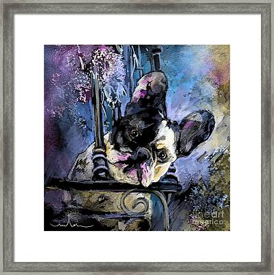 Spok Framed Print by Miki De Goodaboom