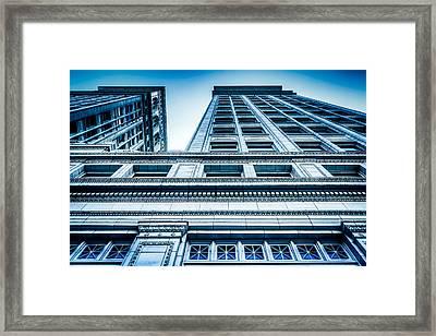 Spokane Architecture Framed Print by Spencer McDonald