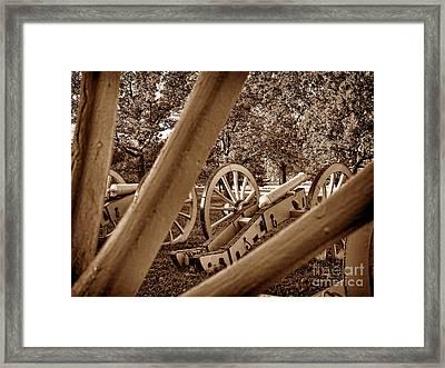 Spokes Of Courage Framed Print by Olivier Le Queinec