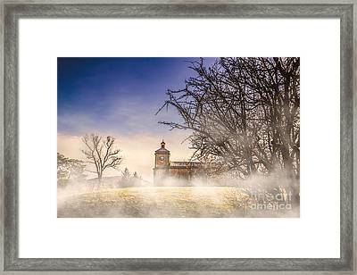 Spooky Old Church Framed Print by Jorgo Photography - Wall Art Gallery