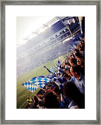 Sporting Kansas City Framed Print by Stacia Blase