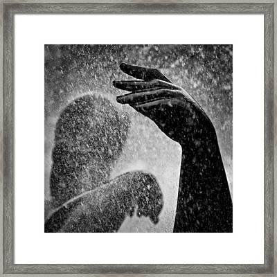 Spray Framed Print by Dave Bowman