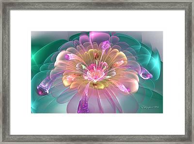 Spring Bloom Framed Print by Peggi Wolfe