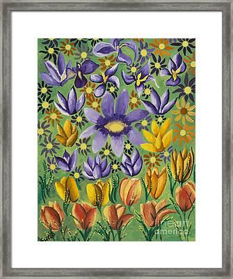 Spring Bloom Framed Print by Sweta Prasad