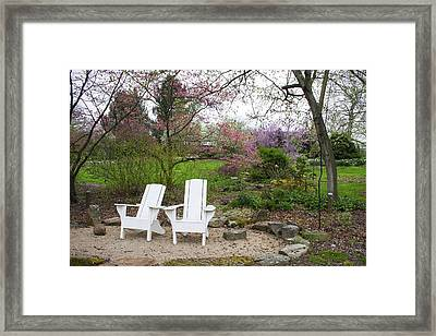 Spring Blooms Framed Print by Ron Grafe
