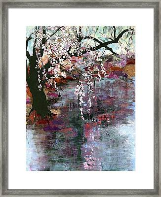 Spring Blossoms Framed Print by Ethel Vrana