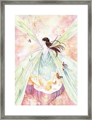 Spring Blossoms Framed Print by Janet Chui