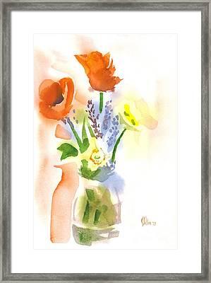 Spring Bouquet II Framed Print by Kip DeVore