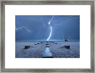 Spring Break In Florida Framed Print by John B. Mueller Photography