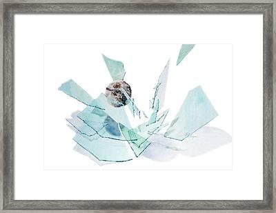 Spring Break Framed Print by Maryann Boysen