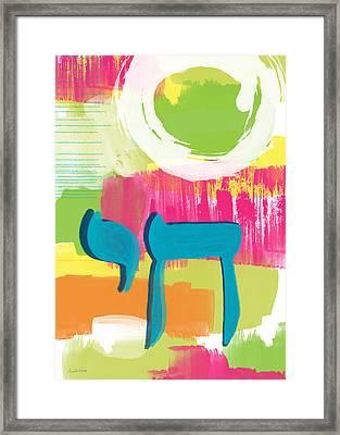 Spring Chai Framed Print by Linda Woods