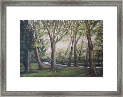 Spring Dusk Framed Print by Grace Keown