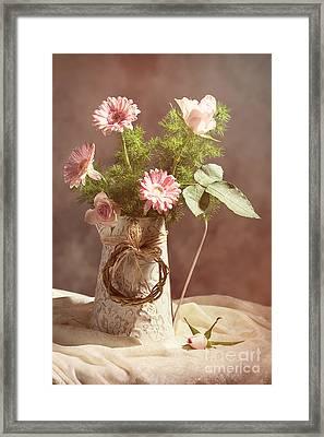 Spring Flower Arrangement  Framed Print by Amanda And Christopher Elwell