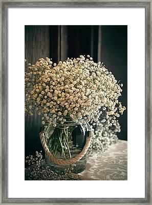 Spring Flower Arrangement Framed Print by Maria Angelica Maira