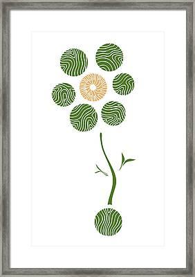 Spring Flower Framed Print by Frank Tschakert