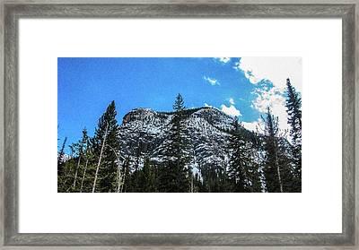 Spring Forward Methow Valley Motivational Artwork By Omashte Framed Print by Omaste Witkowski