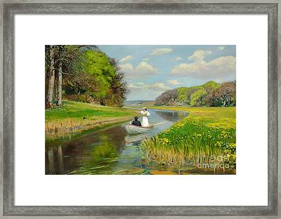 Spring Framed Print by Celestial Images