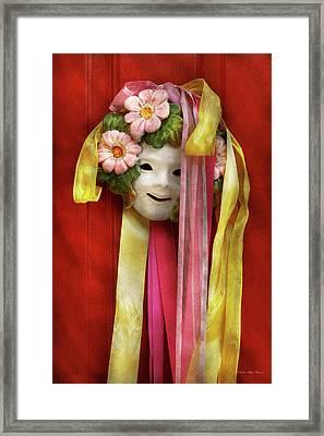 Spring - Harbinger Of Spring Framed Print by Mike Savad