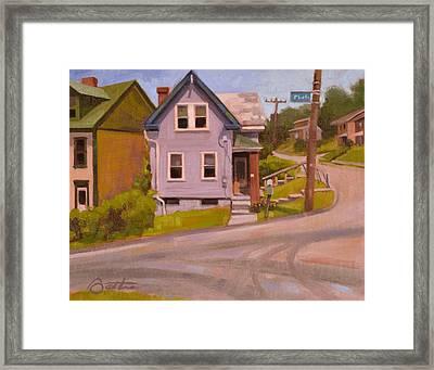 Spring Hill Framed Print by Todd Baxter