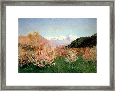 Spring In Italy Framed Print by Isaak Ilyich Levitan